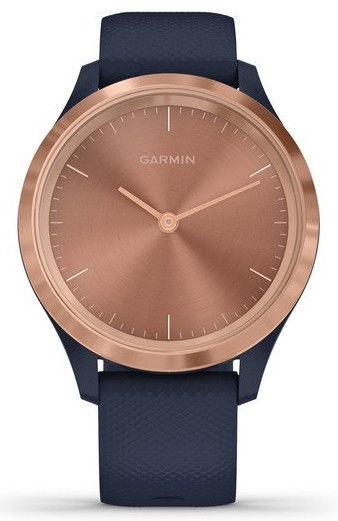 Garmin Vivomove 3S 39mm Gold Rose Navy
