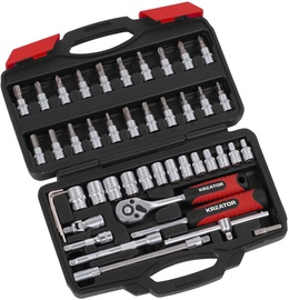 "Kreator KRT500117 Socket Set 1/4"" 46pcs"