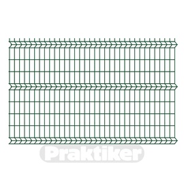 Tvoros segmentas, 2500 x 1730 x 4 mm, žalias