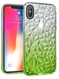 Mocco Trendy Diamonds Back Case For Huawei Mate 20 Lite Green