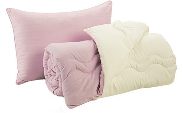 Dormeo Good Morning/Night Pillow and Duvet Set Violet 140 x 200