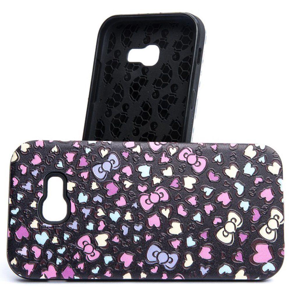 32b96b704b2 Mocco 3D Hearts Back Case For Samsung Galaxy A5 A520 Black - Krauta.ee