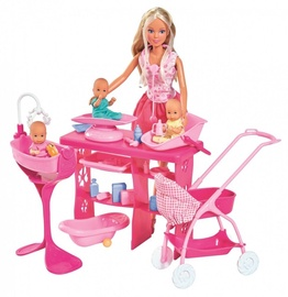 Кукла Simba Steffi Love Super Baby Care