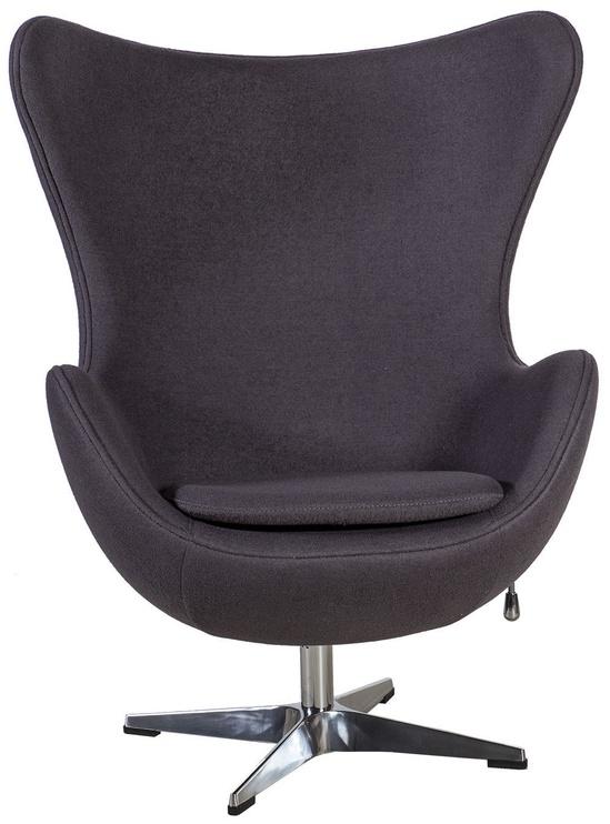 Кресло Home4you Grand Star Grey, 87x78x104 см