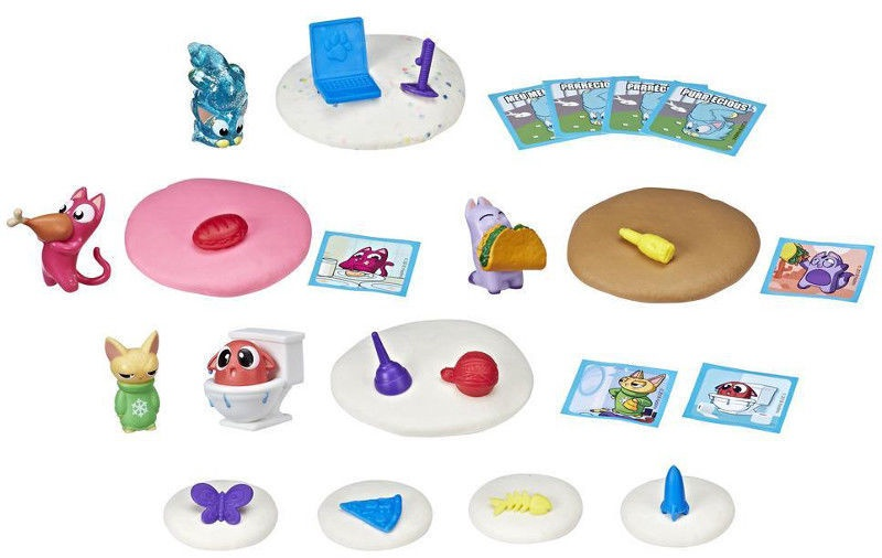 Hasbro Lost Kitties Set E4458