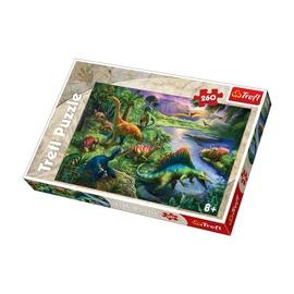 Dėlionė Trefl Dinozaurai, 260 dalių