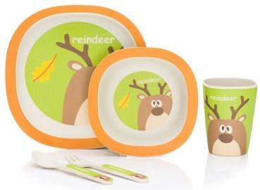 Fillikid Bamboo Crockery Set Reindeer B110-13