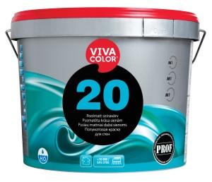Krāsa sienām Vivacolor 20 A, 2,7L