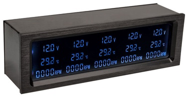 Lamptron Automatic Fan Control CP530 RGB/Black