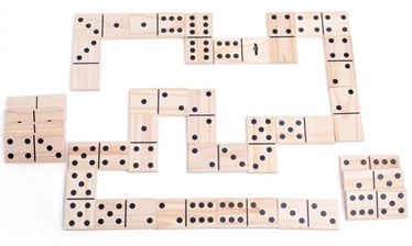 Stalo žaidimas Woodyland Fun Garden Maxi Domino Game 28pcs 91413