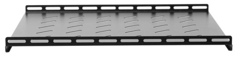 Netrack Equipment Shelf 19'' 1U/500mm Black