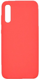 Evelatus Silicone Back Case For Samsung Galaxy A70 Red