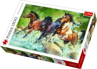Пазл Trefl Three Wild Horses 26148, 1500 шт.