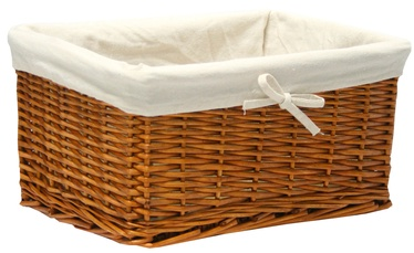 Home4you	Basket Max 37x29x19cm Light Brown