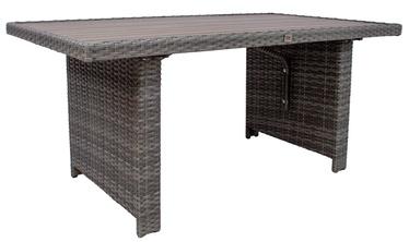 Dārza galds Home4you Pavia 21109, pelēka