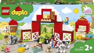 Конструктор LEGO Duplo Фермерский трактор, домик и животные 10952, 97 шт.