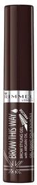 Rimmel London Brow This Way Brow Styling Gel 5ml 03 Dark Brown