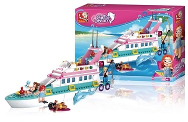 Sluban Girls Dream Vacation Yacht 323pcs M38-B0609