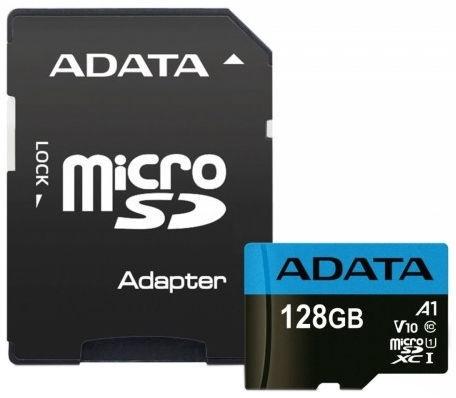 Adata Micro SDXC V10 128GB 85MB/s + Adapter