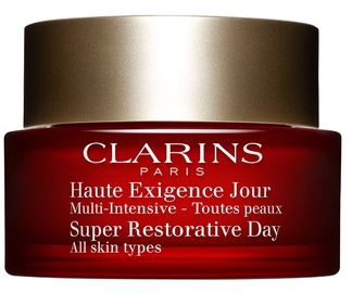 Sejas krēms Clarins Super Restorative Day Cream All Skin Types, 50 ml
