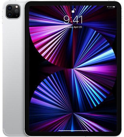 Планшет Apple iPad Pro 11 Wi-Fi 5G (2021), серебристый, 11″, 16GB/1TB
