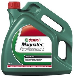 Castrol Magnatec Professioal OE 5W40 Engine Oil 4l