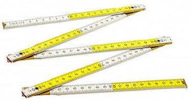 Ega Wooden Folding Ruler 1m