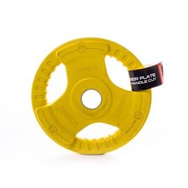 Diskinis svoris grifui LS2123, gumotas, 2,5 kg