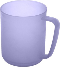 Plast Team Hawaii Cup With Handle 10.7x7.8x9.6cm 0.35l Purple