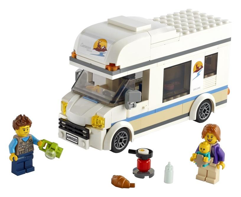 Konstruktorius LEGO City atostogų kemperis 60283