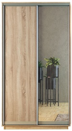 Garant-NV Wardrobe w/ 2 Sliding Doors & 2 Drawers 120x240x60cm Sonoma Oak