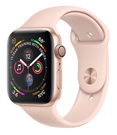 Apple Watch Series 4 44mm Aluminum Gold/Pink Band