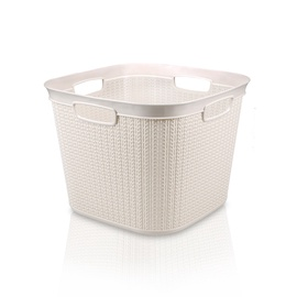Ucsan Plastik M-081 Laundry Basket 41l White