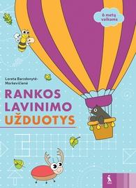 Knyga Rankos lavinimo užduotys 6 metų vaikams