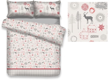 AmeliaHome Snuggy Lappi Bedding Set 155x200/80x80