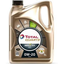 Mootoriõli Total 0W20 Quartz Ineo Xtra First 0W - 20, sünteetiline, sõiduautole, 5 l
