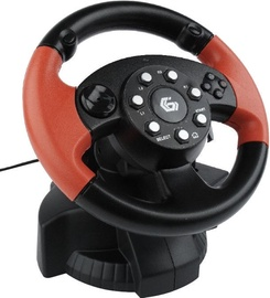 Gembird Multi-Interface Vibrating Racing Wheel STR-MV-02
