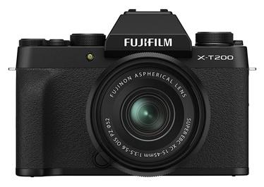 Süsteemne fotoaparaat Fujifilm X-T200 + Fujinon XC 15-45mm F3.5-5.6 OIS PZ Lens Black
