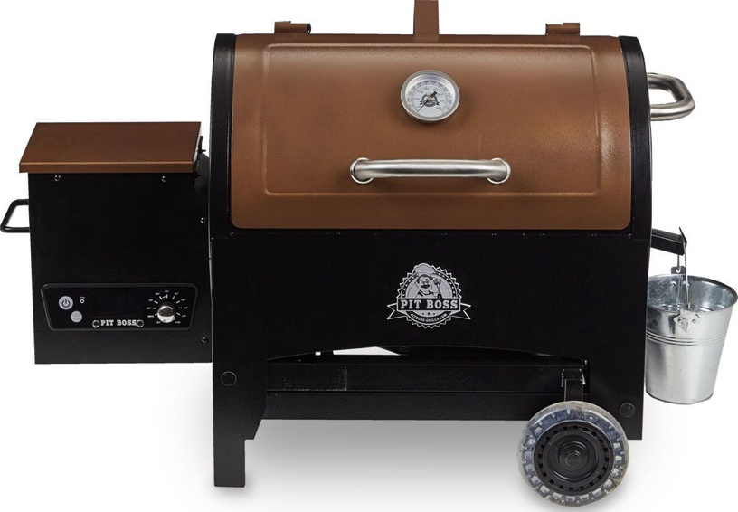 Pit Boss 340 Tailgater Wood Pellet Grill Brown/Black