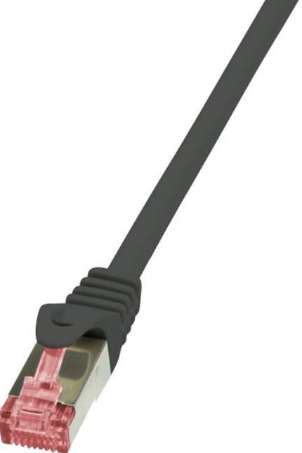 LogiLink CAT 6 S/FTP Cable Black 1m