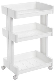 Songmics Kitchen Storage Rack 45x32x70cm White