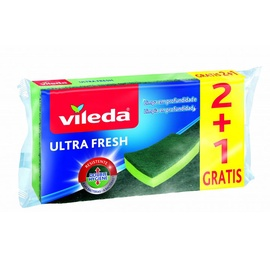 KEMPINĖS VILEDA ULTRAFRESH 2+1