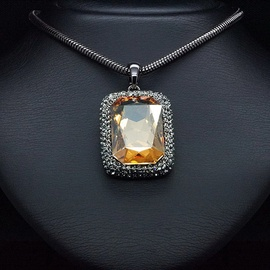 Diamond Sky Pendant Gold Magic With Swarovski Crystals