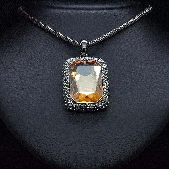 Diamond Sky Pendant Gold Magic With Swarovski Crystals