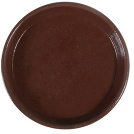 Home4you SIAM Saucer 23cm Brown Teak