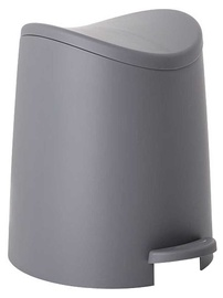 Tatay Bathroom Pedal Bin 3l Standard Grey