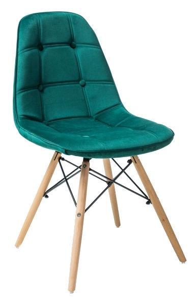 Стул для столовой Signal Meble Axel III Green, 1 шт.