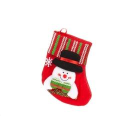 Rotājums ziemassv.zeķe Christmas Touch, 16 cm