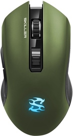 Sharkoon SKILLER SGM3 Wireless Optical Gaming Mouse Green