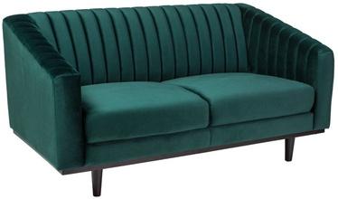 Signal Meble Sofa Asprey 2 Velvet Green/Wenge